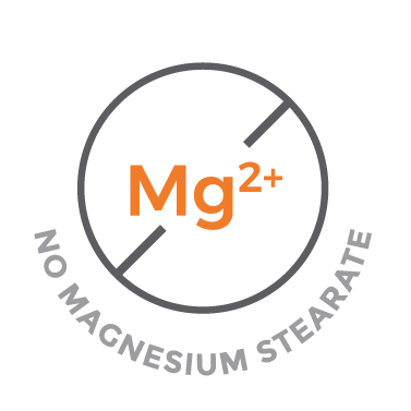 No Magnesium Stearate Icon